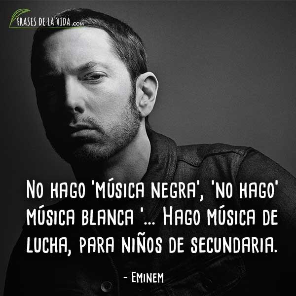 120 Frases De Eminem El Rapero De La Polémica Con Imágenes