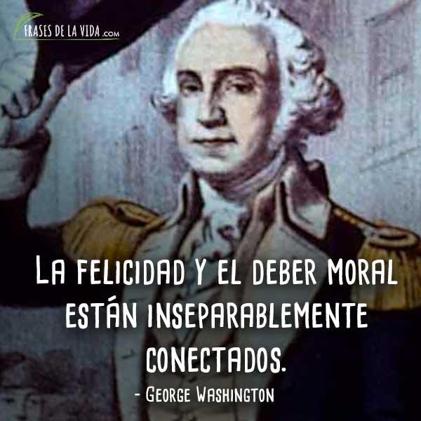 110 Frases De George Washington El Compromiso Con América