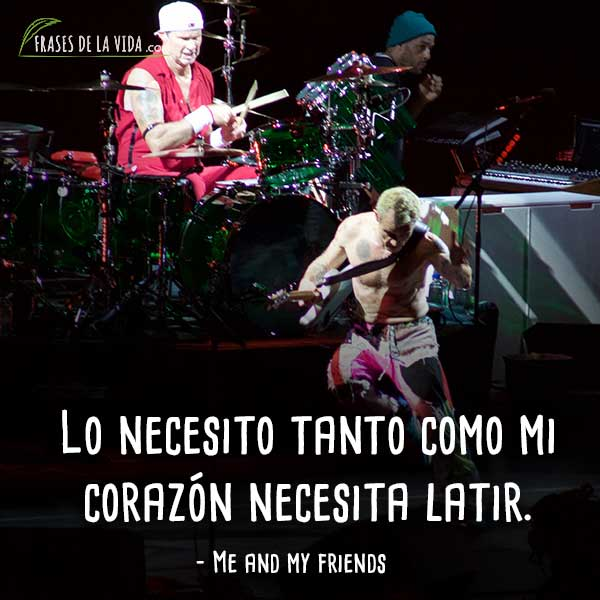 30 Frases De Red Hot Chili Peppers El Máximo Rock