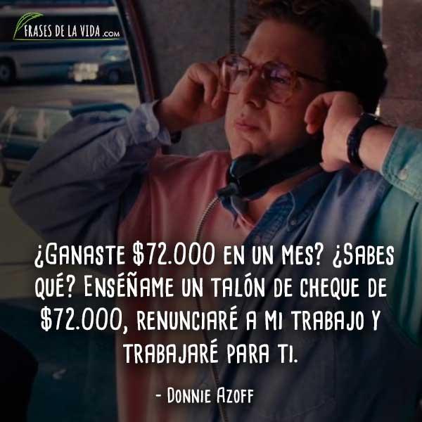 30 Frases Del Lobo De Wall Street El Desenfreno De La Corrupción