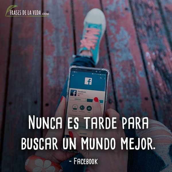 30 Frases Para Facebook Una Imagen Inmejorable De Ti Con