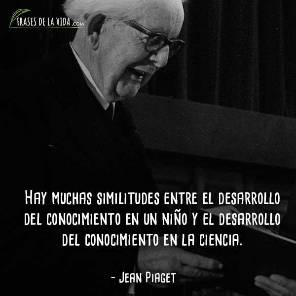 80 Frases De Jean Piaget El Psicólogo De La Lógica Con