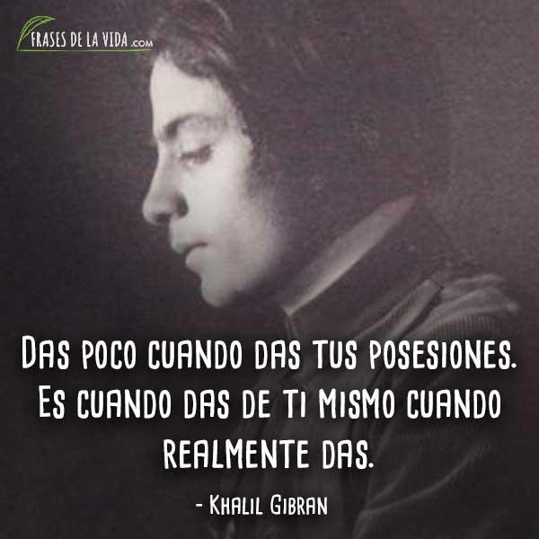 110 Frases de Khalil Gibran | El poeta libanés de la