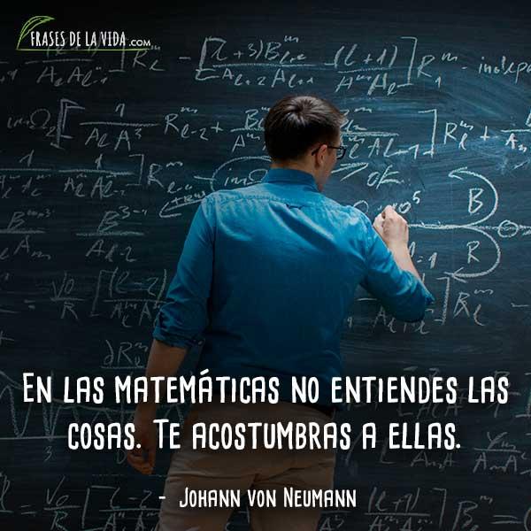 80 Frases De Matemáticas El Lenguaje Universal Con Imágenes