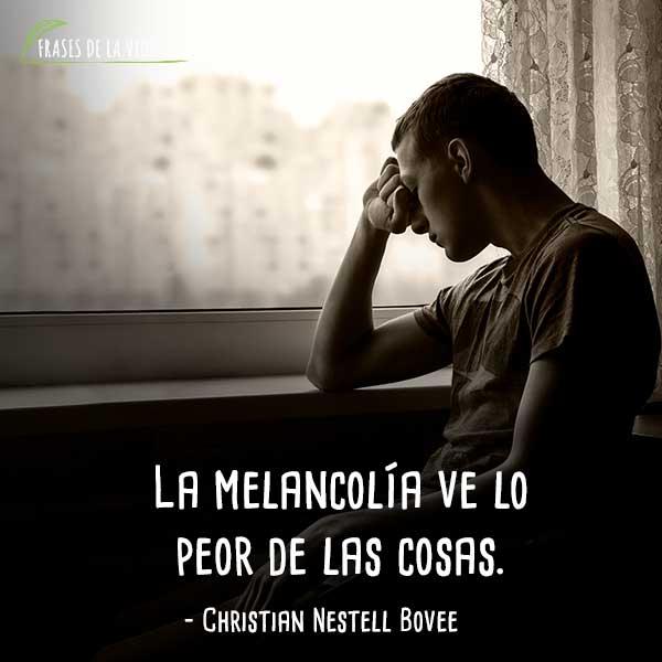 150 Frases De Melancolía El Bello Sentimiento De Tristeza Con