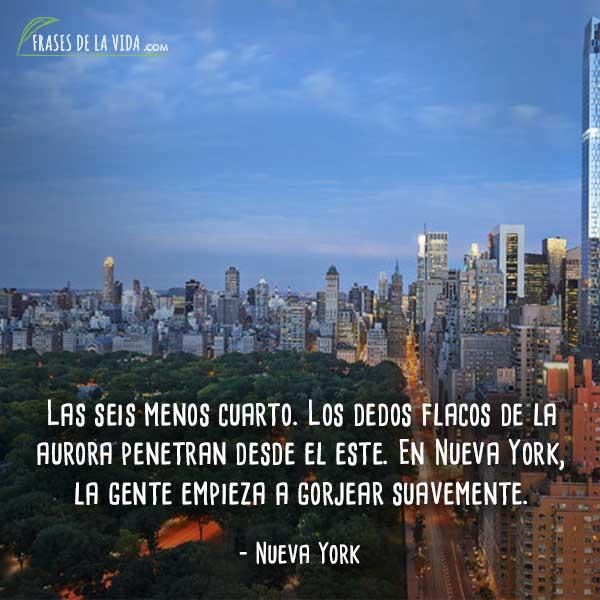 80 Frases De Nueva York La Ciudad Más Influyente Del Mundo