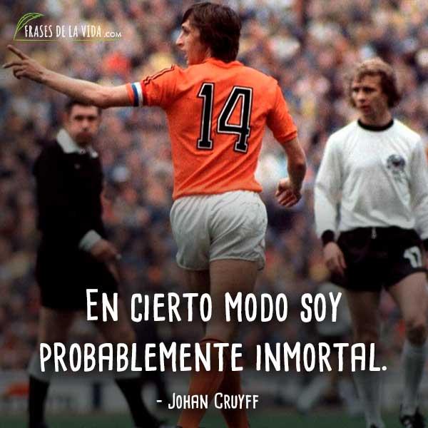 Frases De Johan Cruyff 10 Frases De La Vida