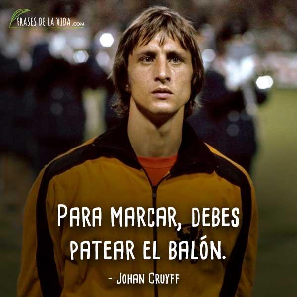 Frases De Johan Cruyff 6 Frases De La Vida