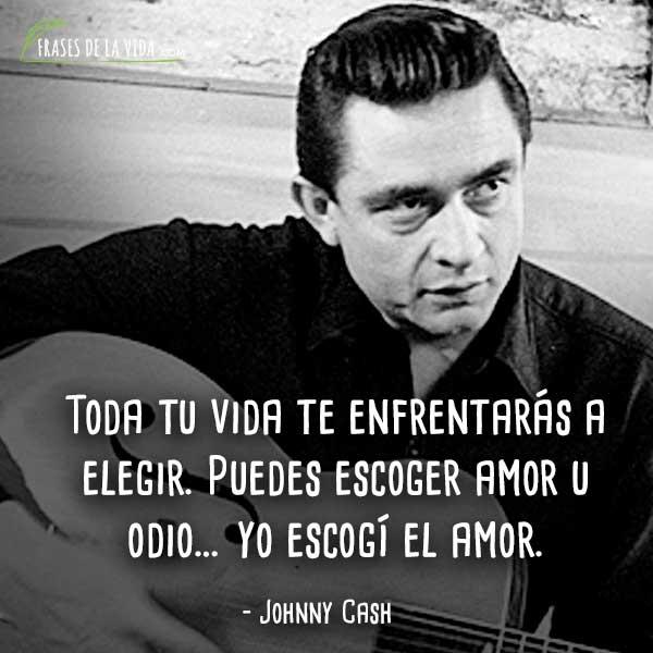 40 Frases De Johnny Cash El Artista Country Más Famoso