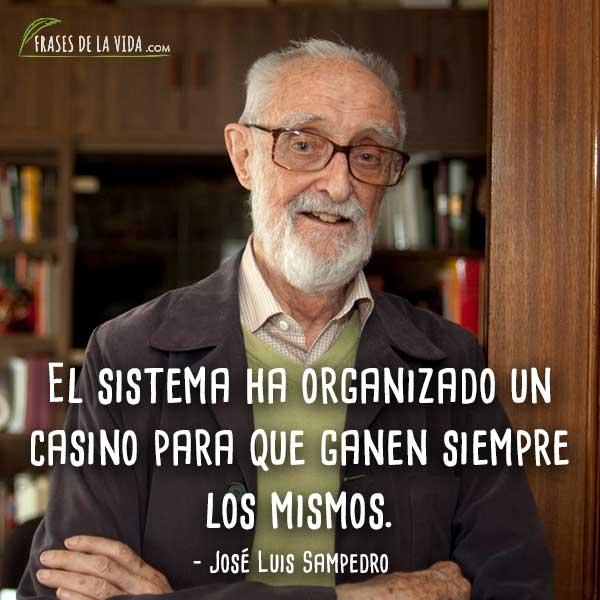 100 Frases De José Luis Sampedro El Economista Del 15 M E