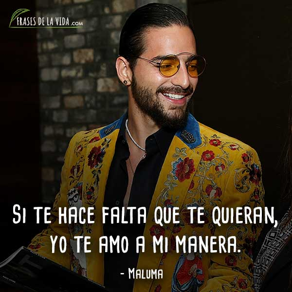 Frases De Maluma 9 Frases De La Vida