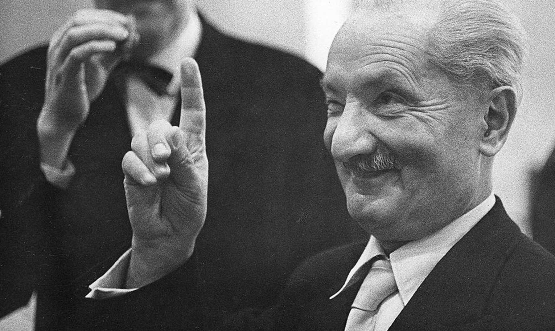 50 Frases De Martin Heidegger El Filósofo Del Ser Imágenes