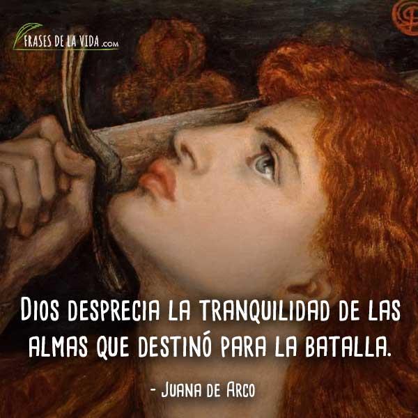 10 Frases De Juana De Arco La Guerrera De Dios Con Imágenes