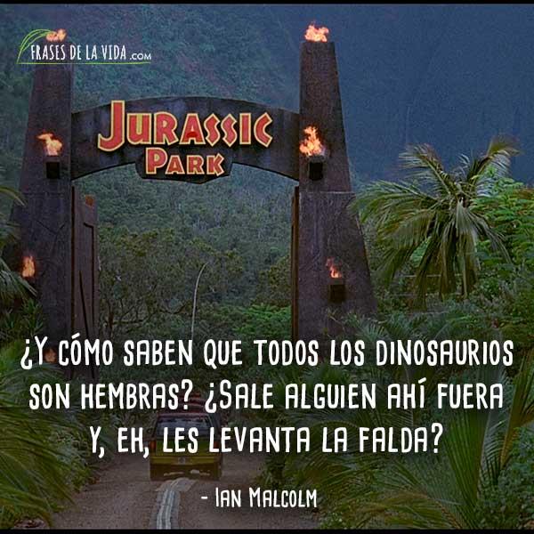 30 Frases De Jurassic Park Exótica Aventura Al Pasado Con