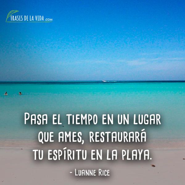 Frases De Playa 7 Frases De La Vida