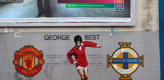 Mural de George Best