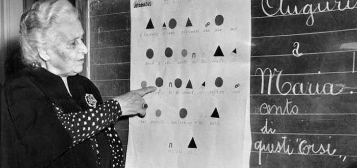frases célebres de María Montessori