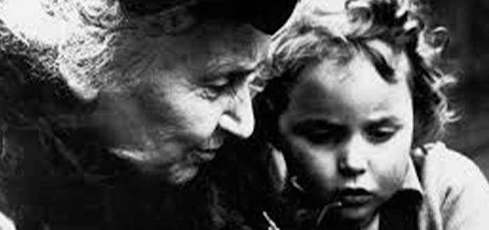 frases de María Montessori para padres